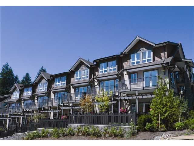 """Main Photo: 108 1480 SOUTHVIEW Street in Coquitlam: North Coquitlam Townhouse for sale in """"CEDAR CREEK"""" : MLS®# V989594"""