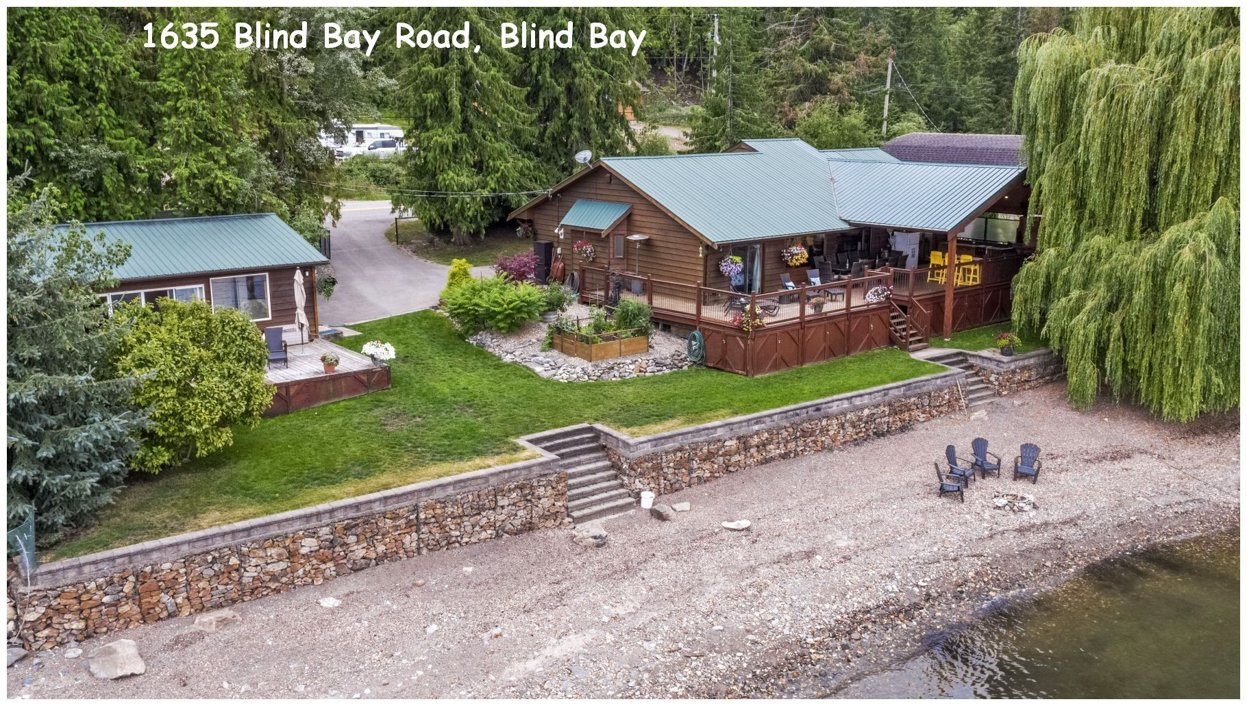 Main Photo: 1635 Blind Bay Road in Sorrento: WATERFRONT House for sale (SORRENTO)  : MLS®# 10213359