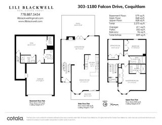 """Photo 37: 303 1180 FALCON Drive in Coquitlam: Eagle Ridge CQ Townhouse for sale in """"FALCON HEIGHTS"""" : MLS®# R2501001"""