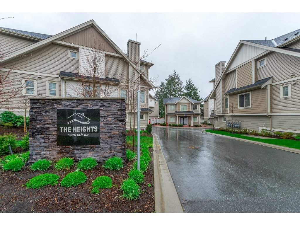 """Main Photo: 10 19097 64 Avenue in Surrey: Cloverdale BC Townhouse for sale in """"The Heights"""" (Cloverdale)  : MLS®# R2257174"""