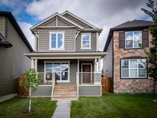 Photo 1: 30 Cranford Bay SE in Calgary: Cranston Detached for sale : MLS®# A1138033