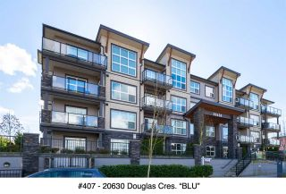 "Photo 1: 407 20630 DOUGLAS Crescent in Langley: Langley City Condo for sale in ""BLU"" : MLS®# R2049078"