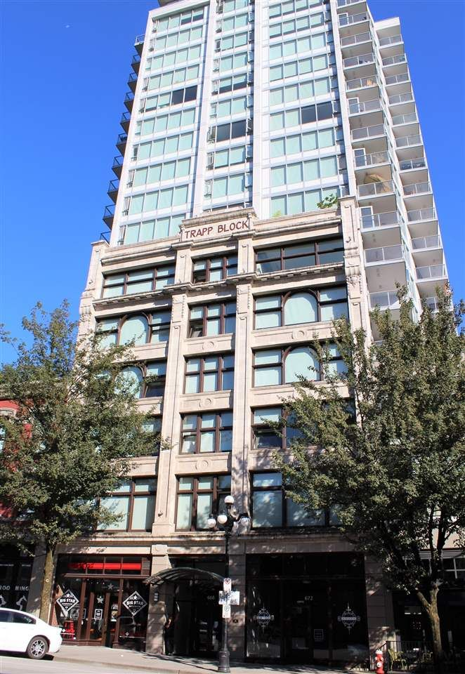 """Main Photo: 307 668 COLUMBIA Street in New Westminster: Quay Condo for sale in """"TRAPP & HOLBROOK"""" : MLS®# R2289718"""