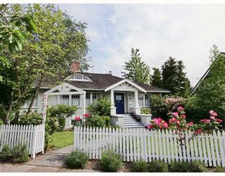 Photo 1: 1149 DEVONSHIRE in Vancouver: Shaughnessy House for sale (Vancouver West)  : MLS®# V752311