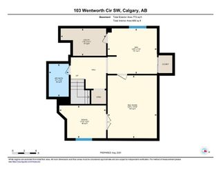 Photo 28: 103 Wentworth Circle SW in Calgary: West Springs Residential for sale : MLS®# A1060667