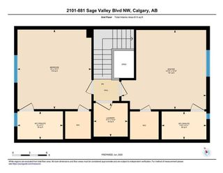 Photo 34: 2101 881 SAGE VALLEY Boulevard NW in Calgary: Sage Hill Row/Townhouse for sale : MLS®# C4305012
