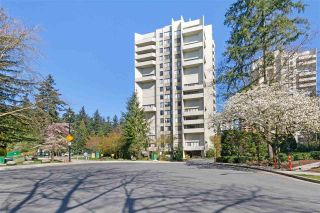 """Photo 1: 908 4105 MAYWOOD Street in Burnaby: Metrotown Condo for sale in """"Time Square"""" (Burnaby South)  : MLS®# R2570116"""