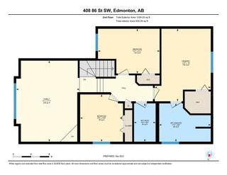Photo 44: 408 86 Street in Edmonton: Zone 53 House for sale : MLS®# E4261895