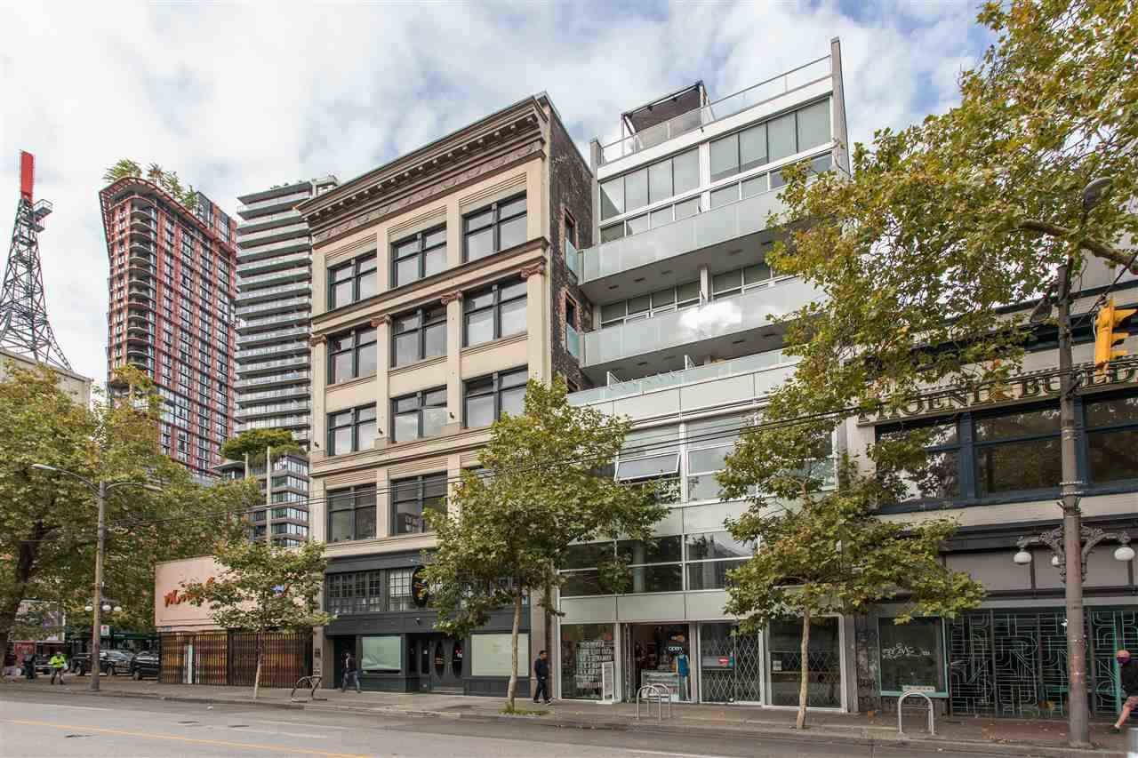 """Main Photo: 309 53 W HASTINGS Street in Vancouver: Downtown VW Condo for sale in """"Paris Annex"""" (Vancouver West)  : MLS®# R2531404"""