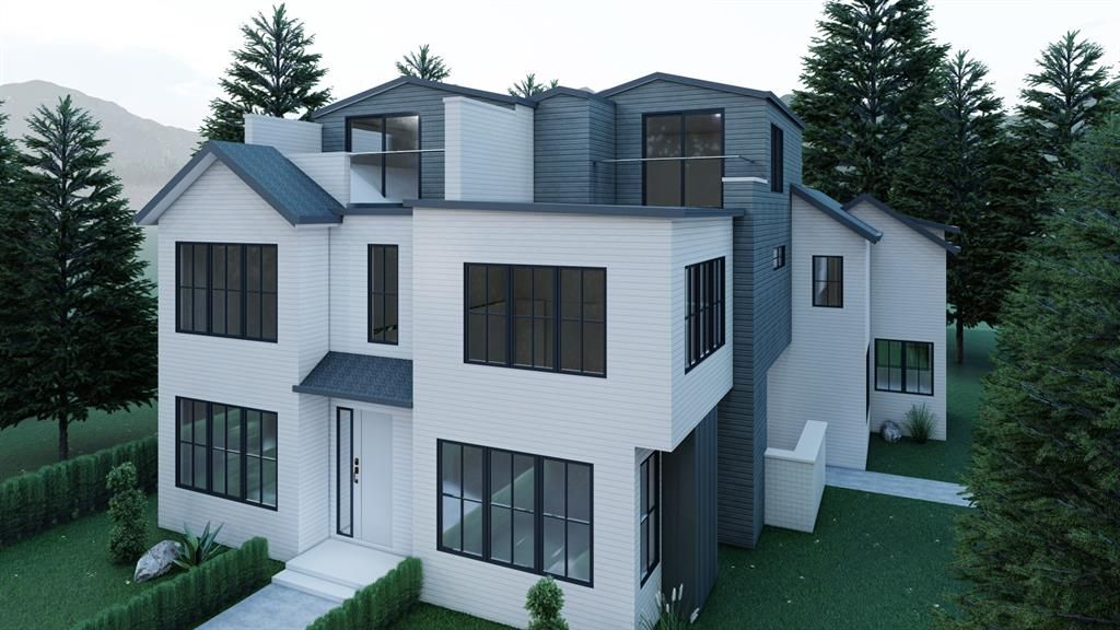 Award winning Aspen Creek Designer Homes proudly presents 104 13 st ne. A one of a kind opportunity for a beautiful home in a tremendous location with outstanding views!