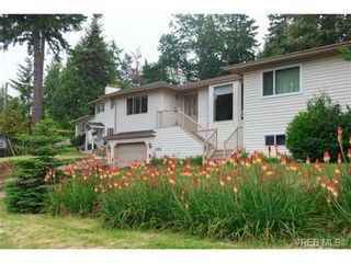 Photo 1: 596 Phelps Ave in VICTORIA: La Thetis Heights Half Duplex for sale (Langford)  : MLS®# 731694