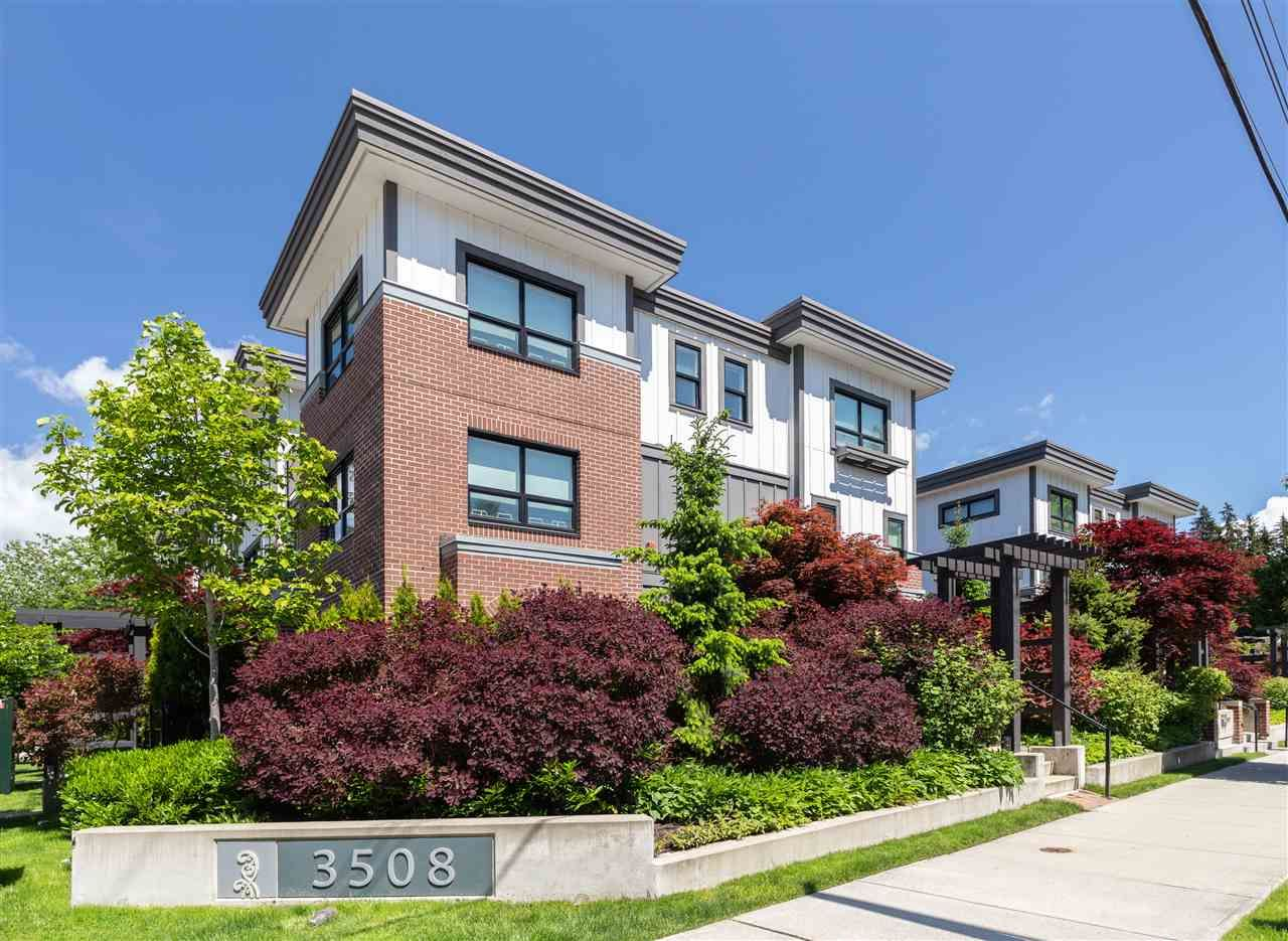 Main Photo: 14 3508 MT SEYMOUR Parkway in North Vancouver: Northlands Townhouse for sale : MLS®# R2461014