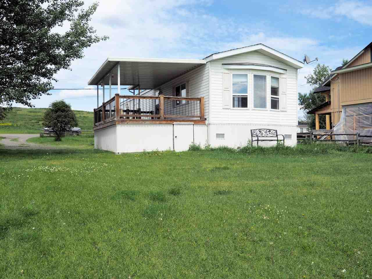 Main Photo: 5480 TATTON STATION Road in 100 Mile House: 108 Ranch Manufactured Home for sale (100 Mile House (Zone 10))  : MLS®# R2468828