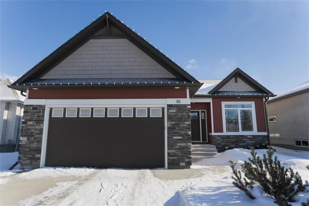 Photo 1: Photos: 35 Ravine Drive in Winnipeg: River Pointe Residential for sale (2C)  : MLS®# 202101783