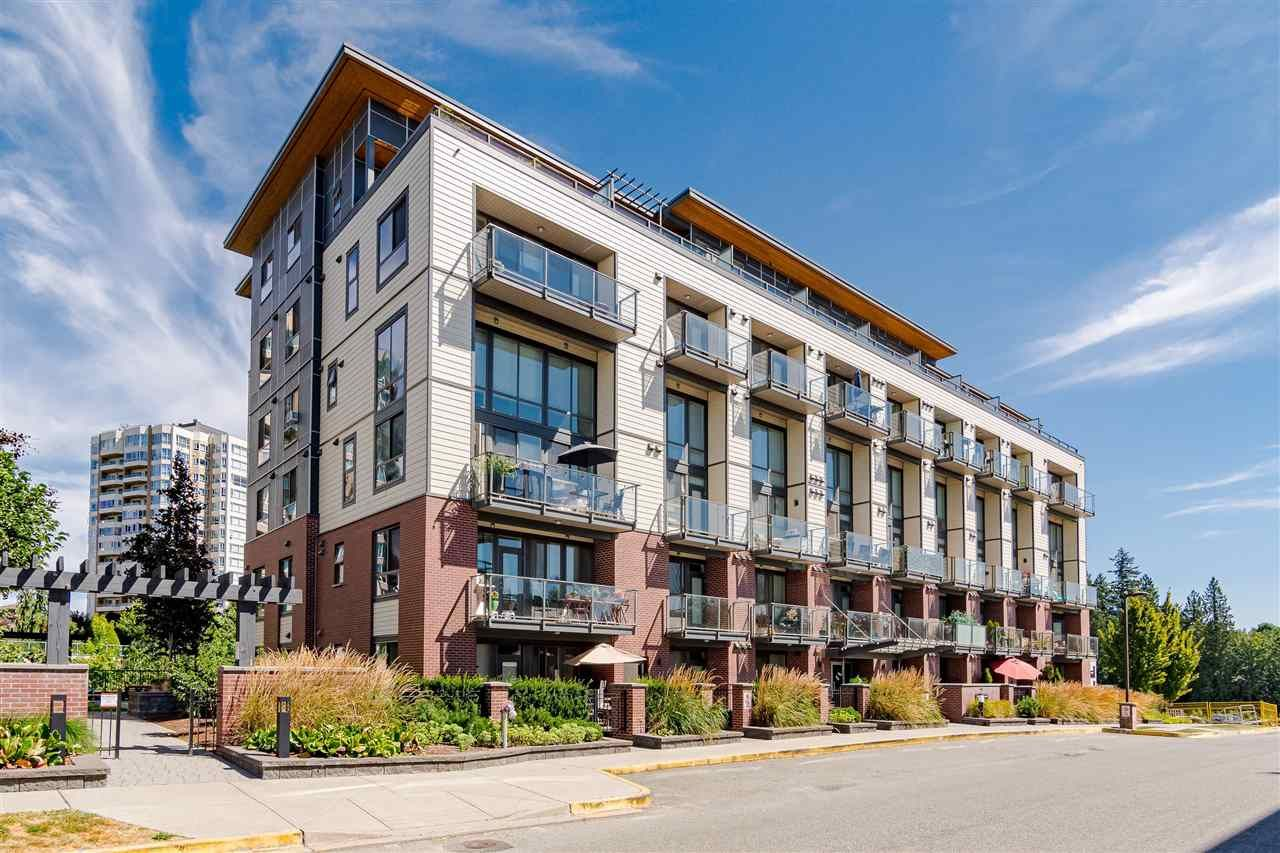 "Photo 1: Photos: 515 3080 GLADWIN Road in Abbotsford: Central Abbotsford Condo for sale in ""HUDSON'S  LOFT"" : MLS®# R2480675"