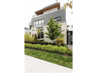 Photo 1: 3160 Prince Edward Street in Vancouver: Mount Pleasant VE Townhouse for sale (Vancouver East)  : MLS®# V1123362