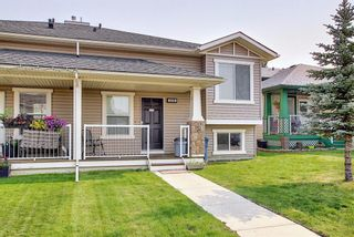 Photo 1: 419 Stonegate Rise NW: Airdrie Semi Detached for sale : MLS®# A1131256