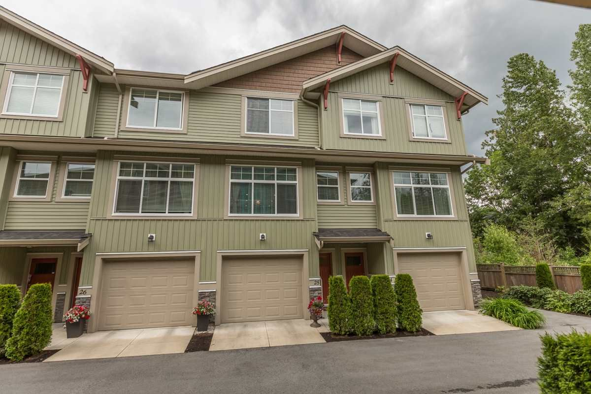 """Main Photo: 25 20967 76 Street in Langley: Willoughby Heights Townhouse for sale in """"Nature's Walk"""" : MLS®# R2074394"""