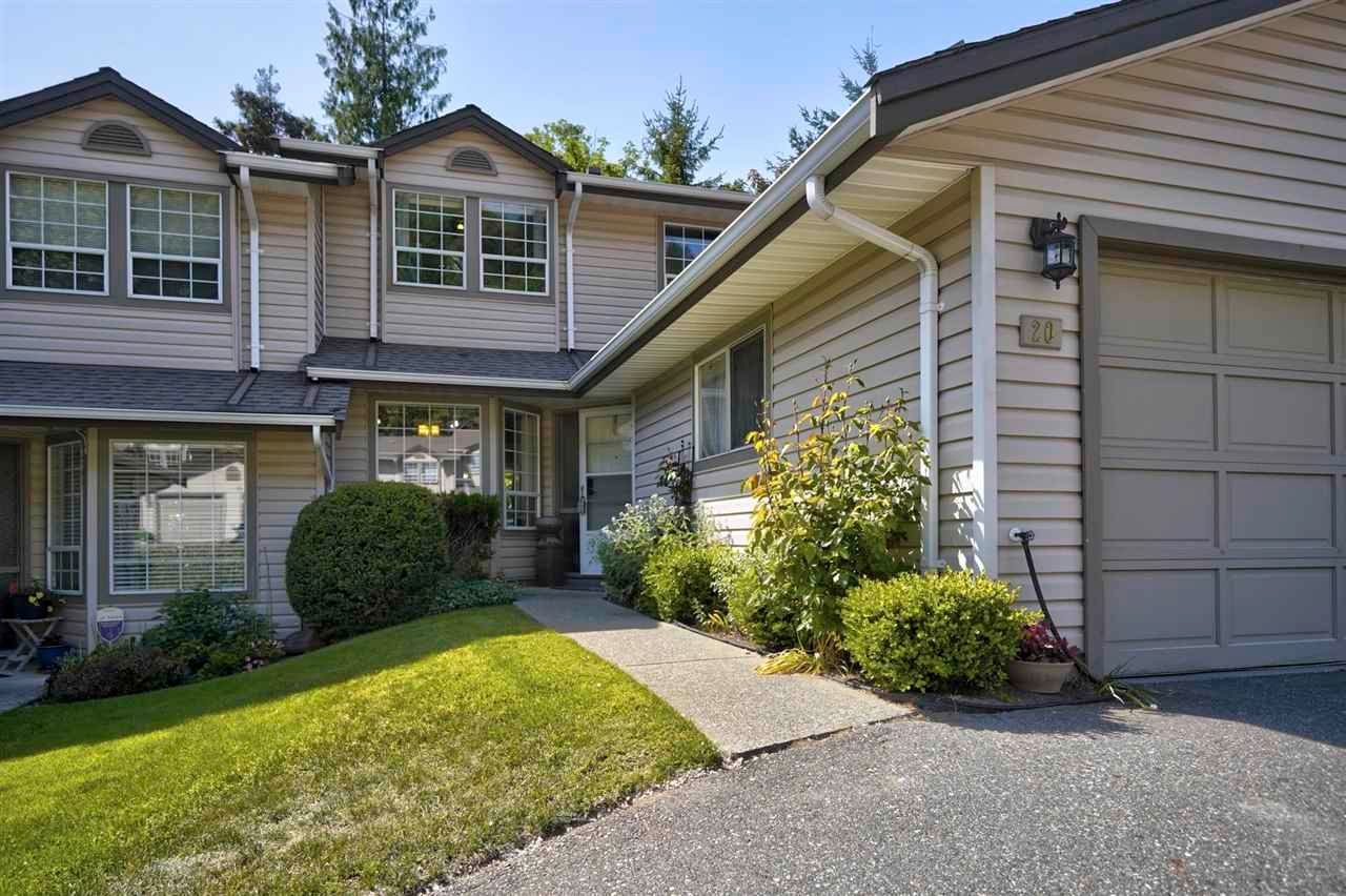 Main Photo: 20 2803 MARBLE HILL Drive: Townhouse for sale in Abbotsford: MLS®# R2593006