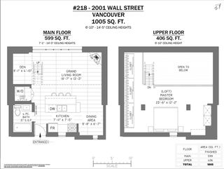 """Photo 14: 218 2001 WALL Street in Vancouver: Hastings Condo for sale in """"CANNERY ROW"""" (Vancouver East)  : MLS®# R2419305"""