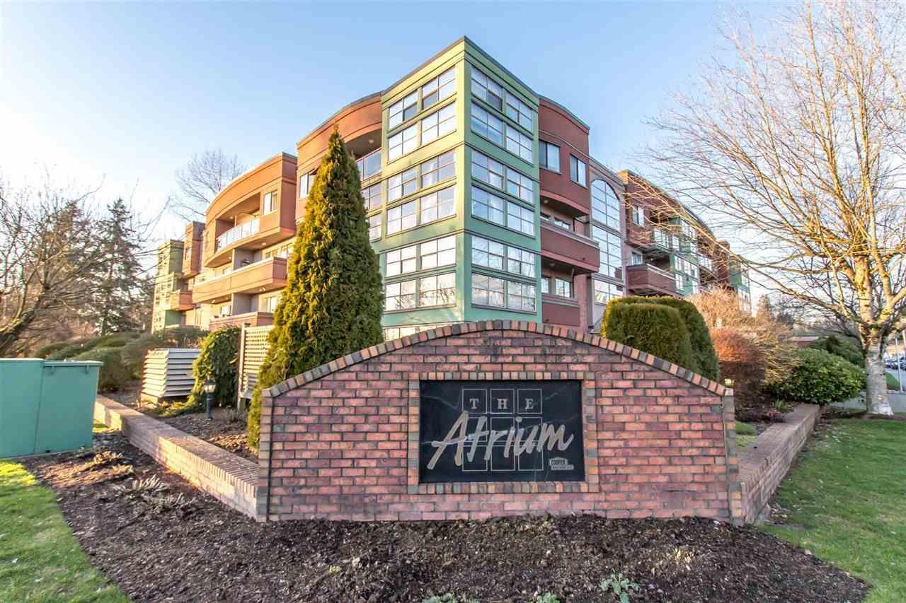 """Main Photo: 402 12025 207A Street in Maple Ridge: Northwest Maple Ridge Condo for sale in """"The Atrium"""" : MLS®# R2430616"""