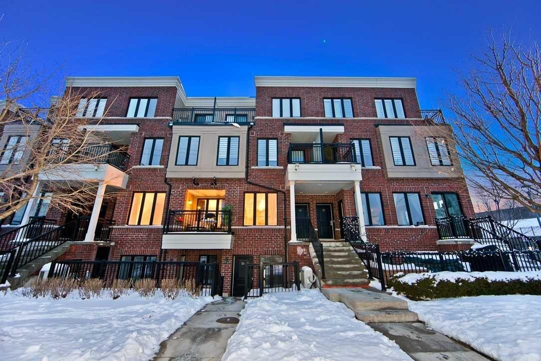 Main Photo: Th25 120 Twenty Fourth Street in Toronto: Long Branch Condo for sale (Toronto W06)  : MLS®# W4676007