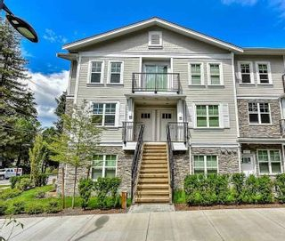 """Photo 1: 201 4135 SARDIS Street in Burnaby: Central Park BS Townhouse for sale in """"Paddington House"""" (Burnaby South)  : MLS®# R2620572"""