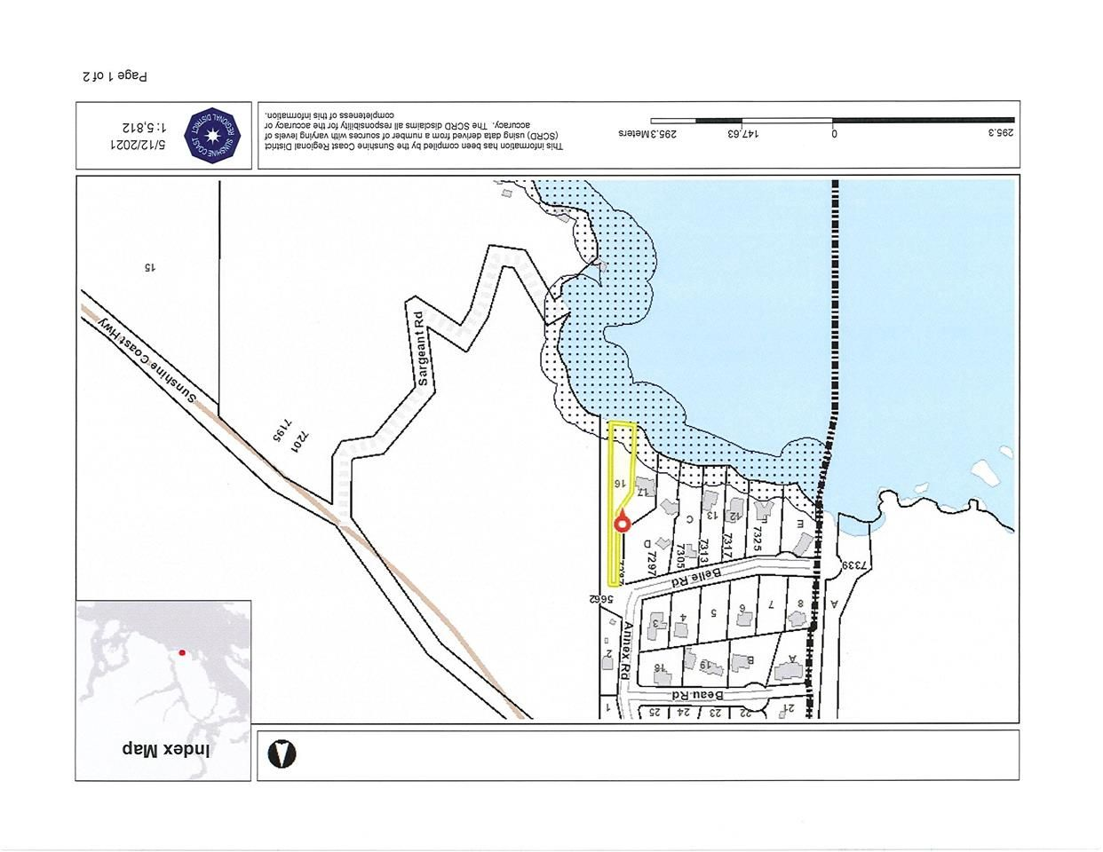 Main Photo: LOT 16 ANNEX Road in Sechelt: Sechelt District Land for sale (Sunshine Coast)  : MLS®# R2580021
