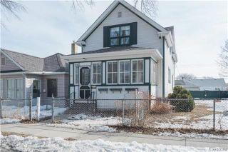 Photo 1: 891 Ashburn Street in Winnipeg: West End Residential for sale (5C)  : MLS®# 1807691