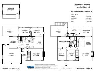 Photo 2: 21207 COOK Avenue in Maple Ridge: Southwest Maple Ridge House for sale : MLS®# R2544938