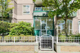 """Photo 1: 102 3463 CROWLEY Drive in Vancouver: Collingwood VE Condo for sale in """"Macgregor Court"""" (Vancouver East)  : MLS®# R2498369"""