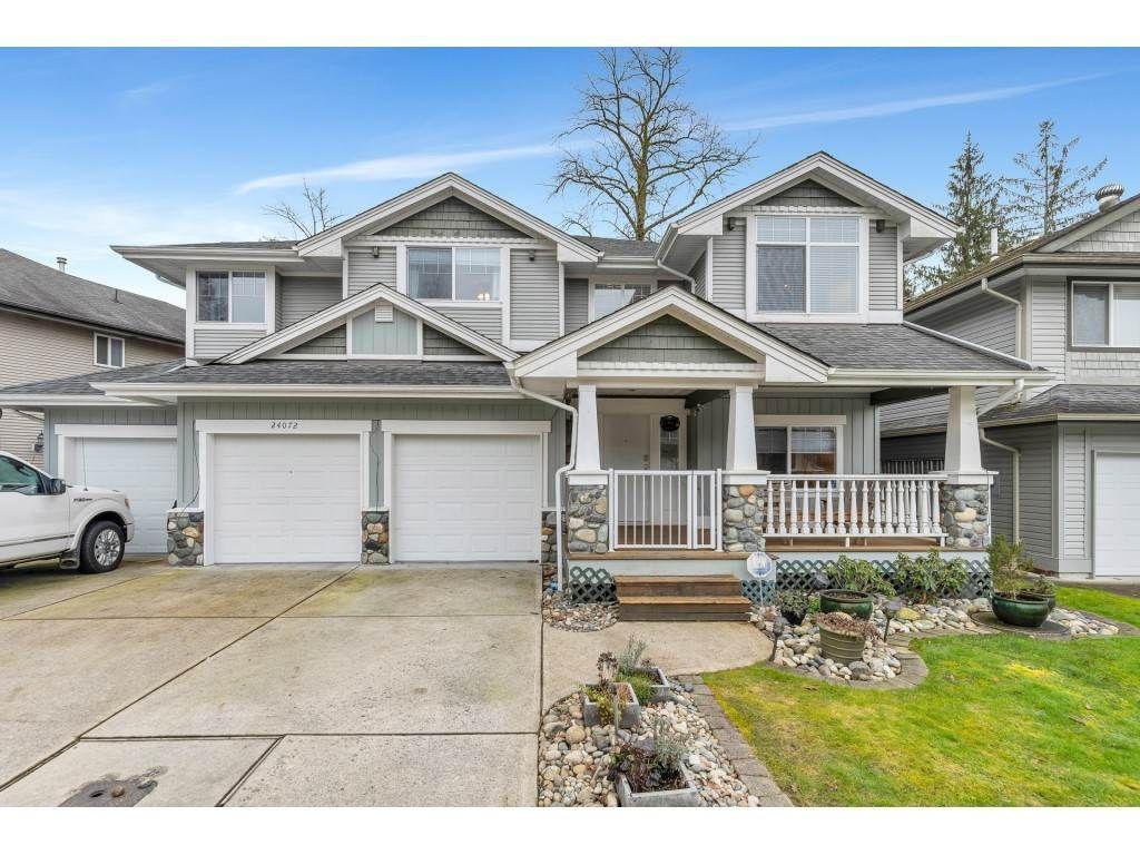 "Main Photo: 24072 109 Avenue in Maple Ridge: Cottonwood MR House for sale in ""HUNTINGTON VILLAGE"" : MLS®# R2539669"