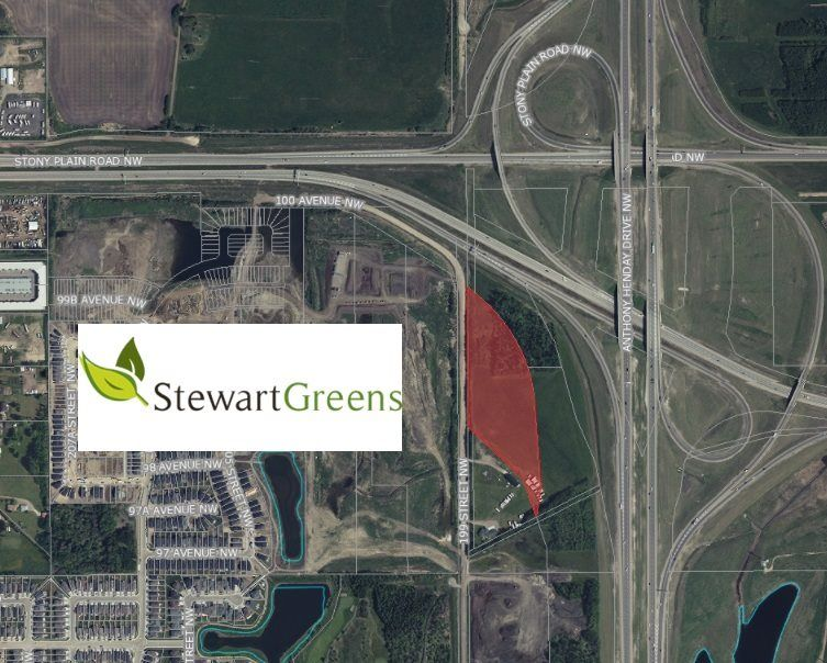 Main Photo: 9775 199 Street in Edmonton: Zone 40 Land Commercial for sale : MLS®# E4223096
