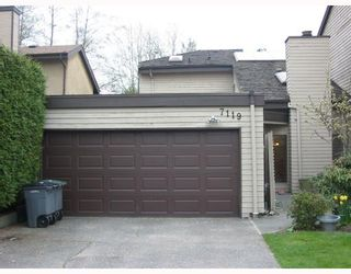 """Photo 1: 7119 CAMANO Street in Vancouver: Champlain Heights Townhouse for sale in """"Solar West"""" (Vancouver East)  : MLS®# V761348"""