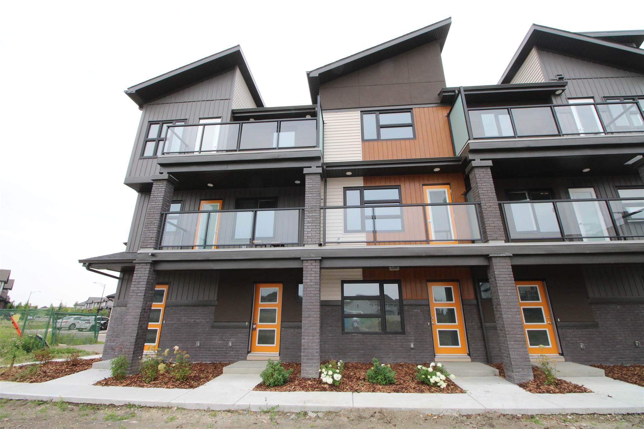 Main Photo: 46 1203 163 Street in Edmonton: Zone 56 Townhouse for sale : MLS®# E4228196