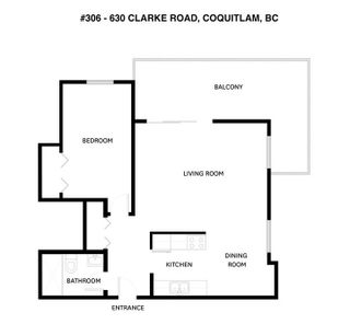 "Photo 2: 306 630 CLARKE Road in Coquitlam: Coquitlam West Condo for sale in ""KING CHARLES COURT"" : MLS®# R2534182"