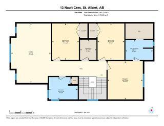 Photo 43: 13 Nault Crescent: St. Albert House for sale : MLS®# E4248384