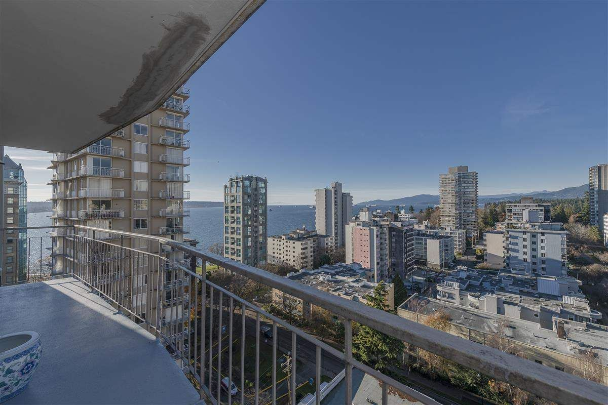 Main Photo: 1604 1850 COMOX STREET in Vancouver: West End VW Condo  (Vancouver West)  : MLS®# R2421108