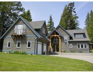Photo 1: 1106 SUNNYSIDE Road in Gibsons: Gibsons & Area House for sale (Sunshine Coast)  : MLS®# V644175