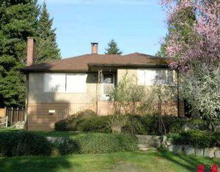 """Photo 1: 9622 TOWNLINE DI in Surrey: Royal Heights House for sale in """"ROYAL HEIGHTS"""" (North Surrey)  : MLS®# F2510294"""