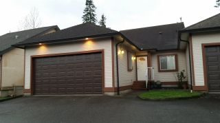 """Photo 1: 57 23151 HANEY Bypass in Maple Ridge: East Central Townhouse for sale in """"STONEHOUSE ESTATES"""" : MLS®# R2015942"""