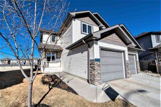 Photo 1: 16833 51 Street in Edmonton: Zone 03 House Half Duplex for sale : MLS®# E4237781