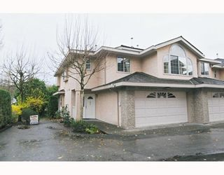 """Photo 1: 41 22488 116TH Avenue in Maple Ridge: East Central Townhouse for sale in """"RICHMOND HILL ESTATES"""" : MLS®# V799040"""