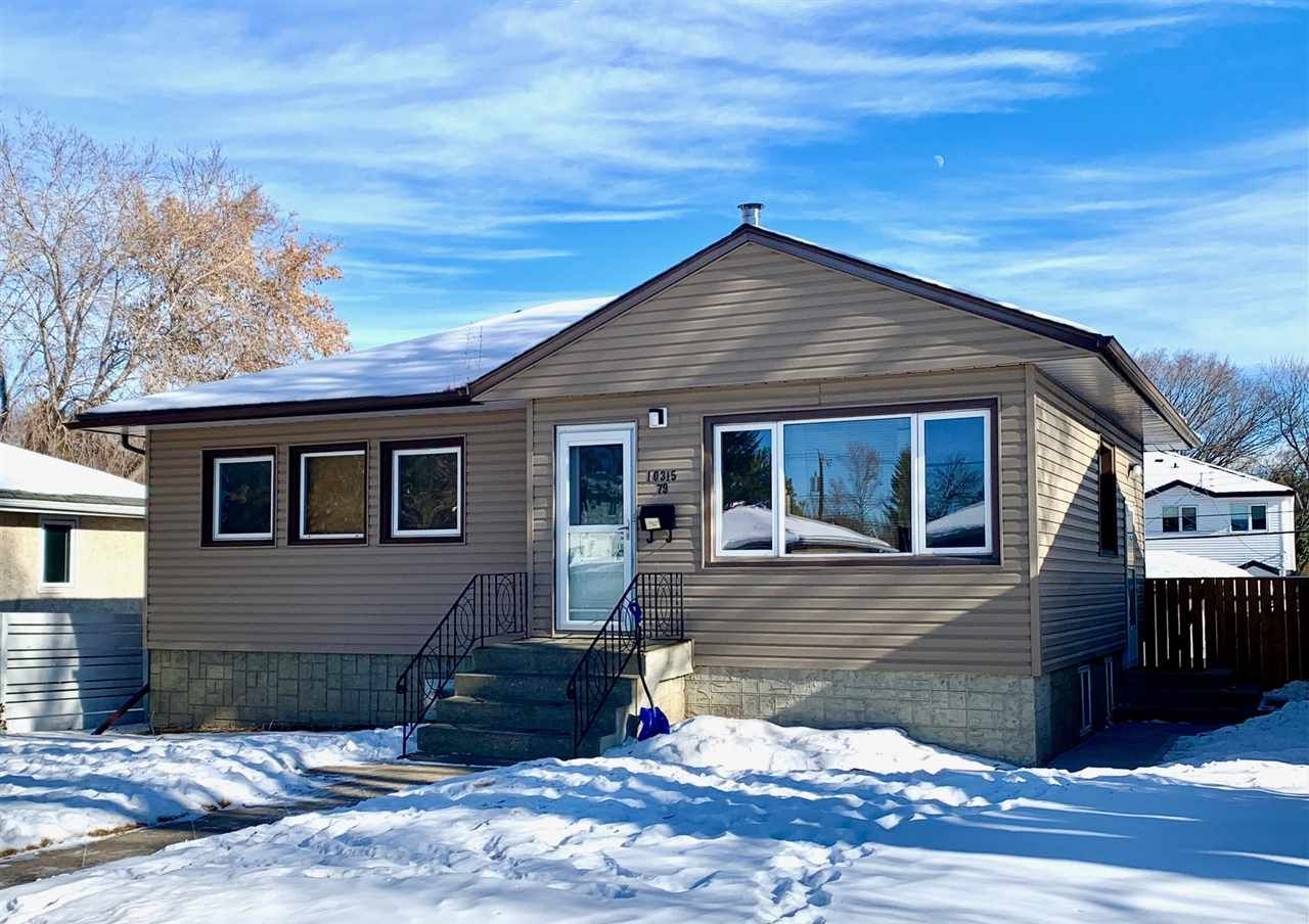 Main Photo: 10315 79 Street NW in Edmonton: Zone 19 House for sale : MLS®# E4229524