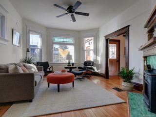 Photo 3: 625 Harbinger Ave in Victoria: Vi Fairfield West Full Duplex for sale : MLS®# 860340
