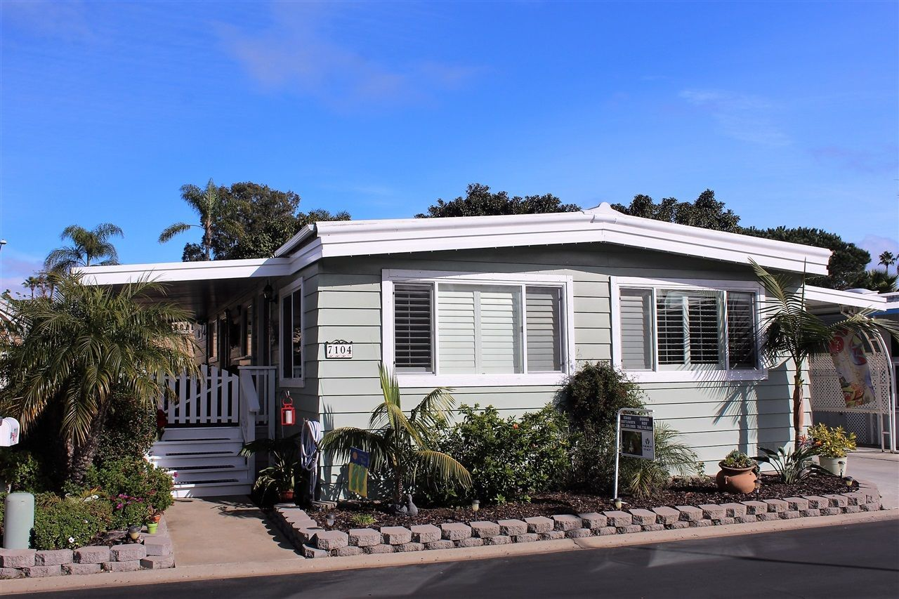 Main Photo: CARLSBAD WEST Manufactured Home for sale : 2 bedrooms : 7104 San Bartolo #10 in Carlsbad