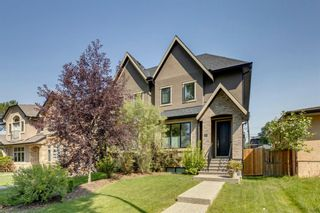 Photo 1: 452 18 Avenue NE in Calgary: Winston Heights/Mountview Semi Detached for sale : MLS®# A1130830