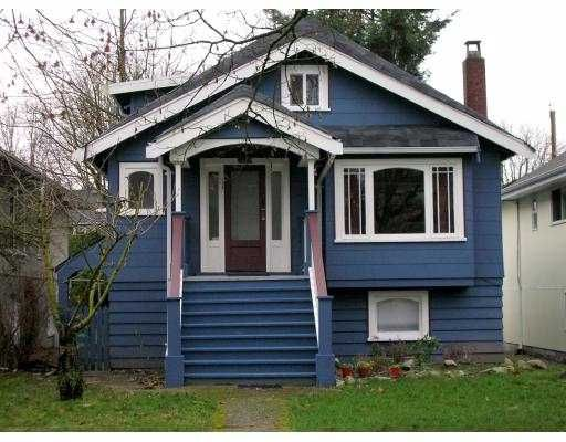 Main Photo: 2828 W 11TH AV in Vancouver: Kitsilano House for sale (Vancouver West)  : MLS®# V572352