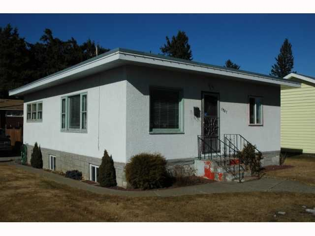 """Main Photo: 1737 HEMLOCK Street in Prince George: Millar Addition House for sale in """"MILLAR ADDITION"""" (PG City Central (Zone 72))  : MLS®# N199041"""