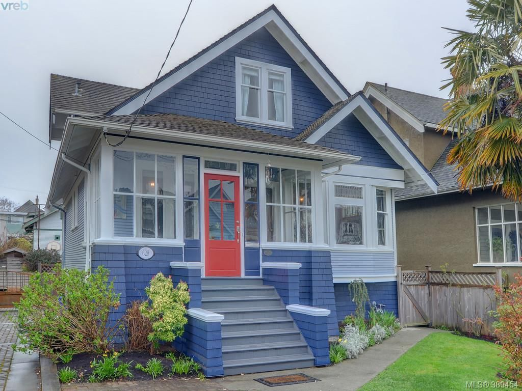 Main Photo: 629 Niagara St in VICTORIA: Vi James Bay House for sale (Victoria)  : MLS®# 782729